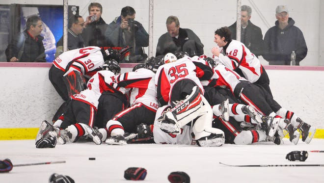 Lakeland will enter this season's Passaic County ice hockey tournament as the two-time defending champion.