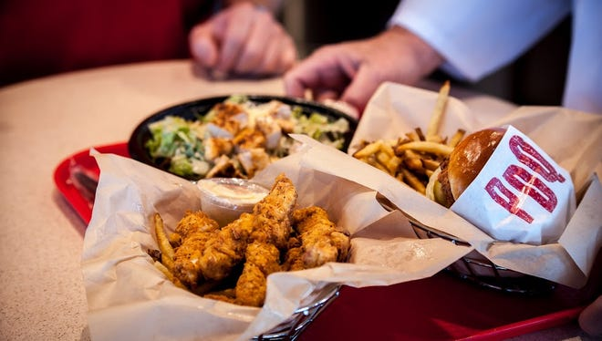 Chicken tenders, chicken sandwiches, hand-cut fries and salads are among the offerings at PDQ.