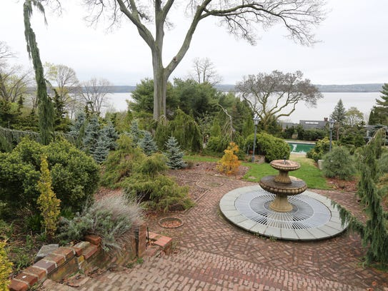 The gardens at Pretty Penny on North Broadway in Nyack,