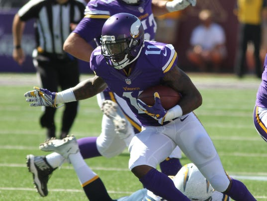 Nfl Vikings Could Be Without Top Receivers Vs Denver