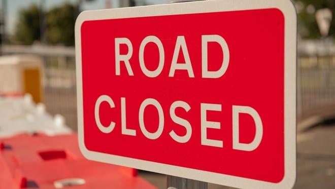 Be aware of road closures.