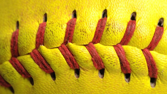 File Illustration Image - softball stitch