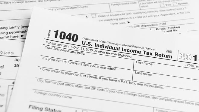 1040 U.S. Individual Income Tax Return