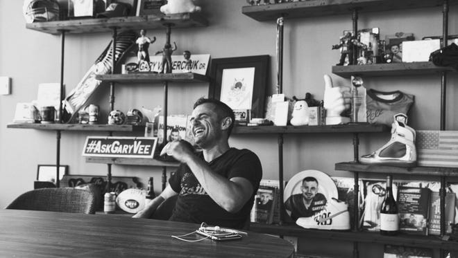 Gary Vaynerchuk calls himself a serial entrepreneur. He's always looking ahead to the next project but will sometimes reflect on the past. He has been known to drive past his childhood home and soak in the nostalgia.