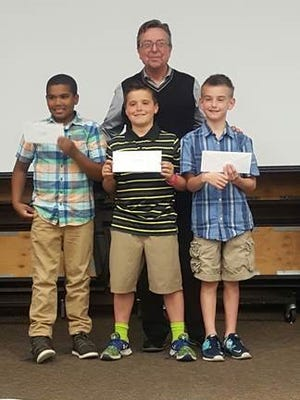 The third-grade winners were the Beast Boys -  Avery Myles, Shawn Lane and Tyler Shubnell.