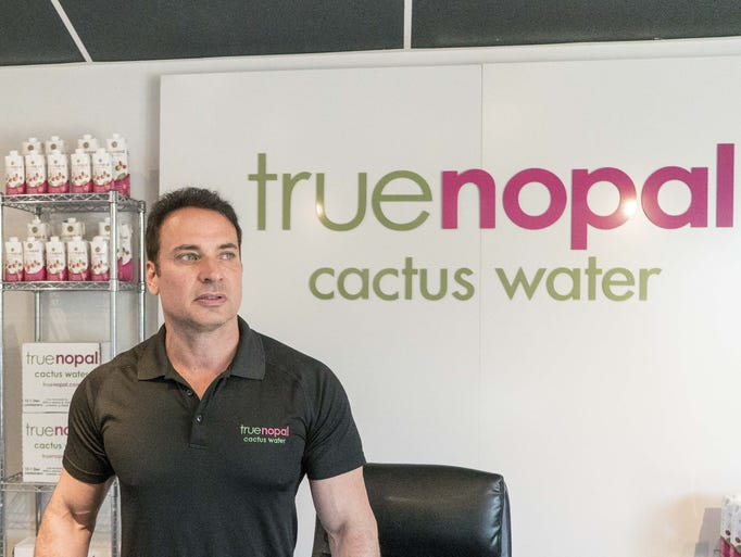 True Nopal owner Tom Zummo discovered cactus water