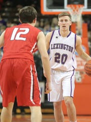 Lexington's Mason Kearns was first team All-Ohio in