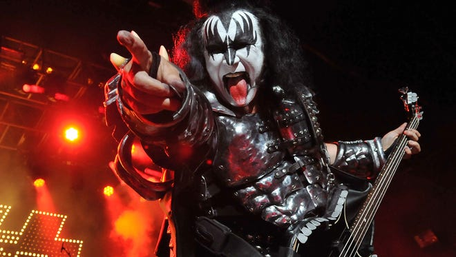 "Gene Simmons of KISS says seeing new fans, sometimes as young as 5, catching their first KISS show with their dad or grandpa ""is cooler than being the pope."""