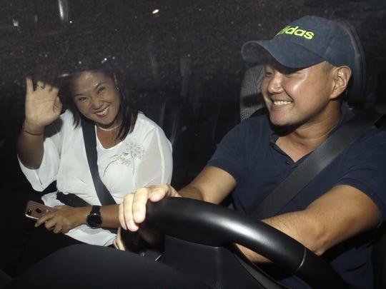 Keiko Fujimori,Hiro Fujimori