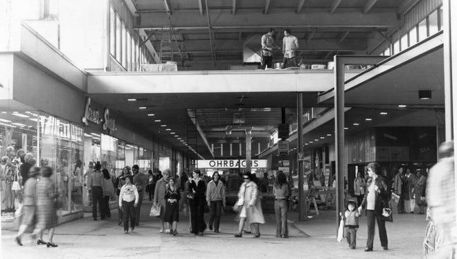 Bergen Mall as seen in June of 1973.
