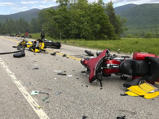 Motorcycles Crash (2)