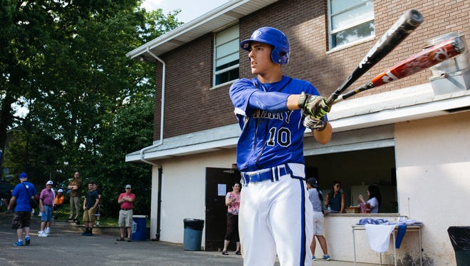 Greg Dahl is one of the seniors that helped the St. Mary baseball team to 89 wins over the past four years.