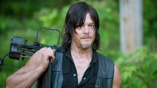 """Daryl Dixon (Norman Reedus) spends a lot of time indoors in """"The Cell."""""""