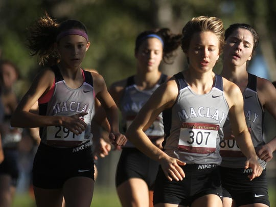 District 3-1A cross country meet at UF IFAS extension in Monticello, Oct. 18, 2016.