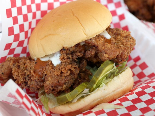 The Country fried chicken sandwich can be found on the Marty's Meats and Marty's Birdland food trucks, as well as the Marty's on Park storefront on Park Avenue.