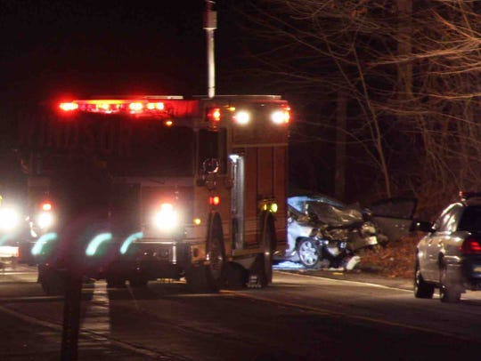 The two-car accident killed one person before the Friday