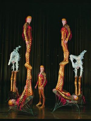 "Cirque du Soleil presents ""Varekai"" beginning Wednesday at the Pensacola Bay Center. Friday, March 14, 2014"