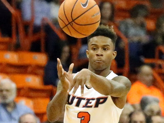 Evan Gilyard is one of three returning Miners as the team prepares to open practice for the 2018-19 season Thursday.