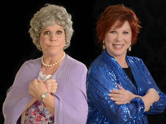 Vicki Lawrence will present a two-woman show Saturday