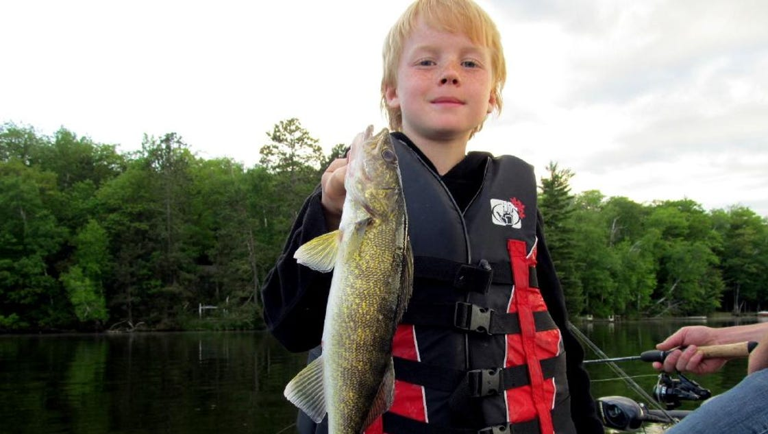 Central wisconsin wisconsin river fishing report for june 15 for Wisconsin river fishing report
