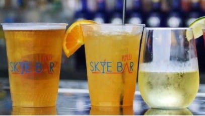 The Skye Bar in Ocean City offers happy hour specials each day from 3 to 6 p.m.