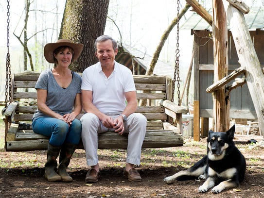 Sharon and Mark Oldham, owners of the Dancing Bear