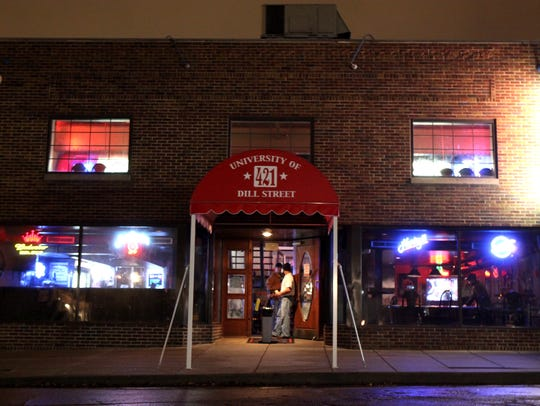 The Dill Street Bar, which has since been torn down,
