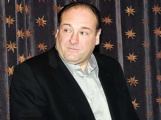 "James Gandolfini, the late, lamented star of ""The Sopranos."""