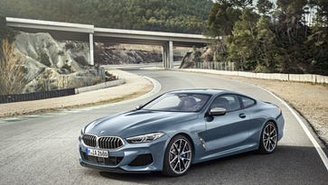 BMW reveals all-new 8-Series Coupe: 523 horsepower and 155 mph