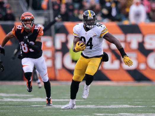 Pittsburgh Steelers inside linebacker Lawrence Timmons