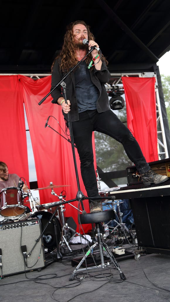 J. Roddy Walston & The Business performs at the Bonnaroo Music and Arts Festival in June.
