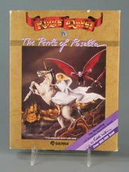"King's Quest IV won the Software Publishers' Association's ""Best Adventure Game"" award in 1989. Courtesy of The Strong, Rochester, New York."