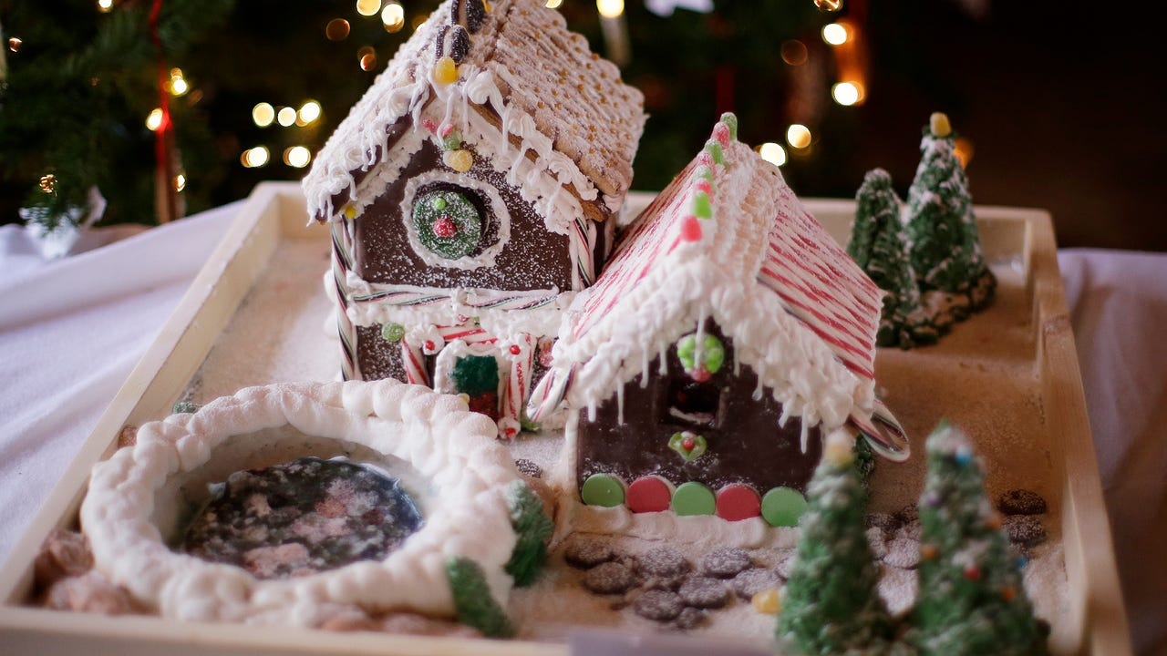 Kohler's Waelderhaus brings the spirit of the holidays with the 21st annual Gingerbread Festival.  The event, sponsored by the Kohler Foundation, has entries from preschools to adult community service groups.