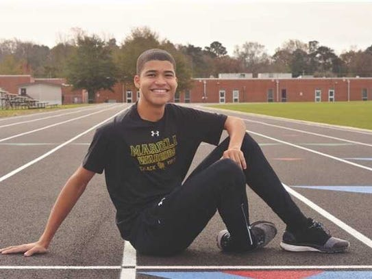 Keith Flagg is a member of the Mardela track and soccer