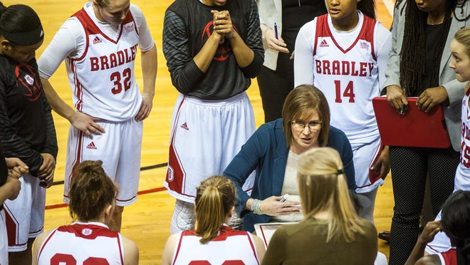 The Bradley women's basketball team is scheduled to open its season Nov. 25 at home against Kansas City.