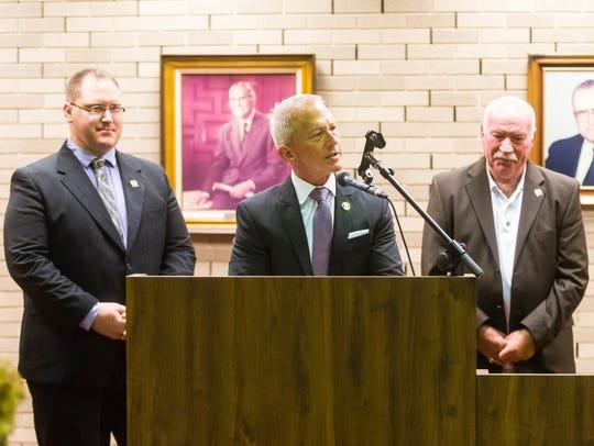 Senator Jeff Van Drew, Assemblyman Bob Andrzejczak,