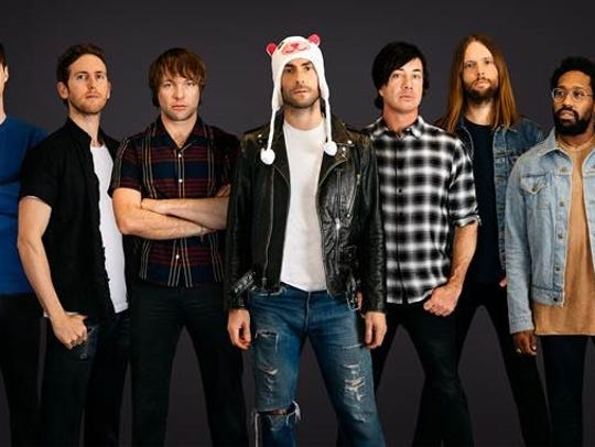 Maroon 5 will be performing in Louisville on Sept.