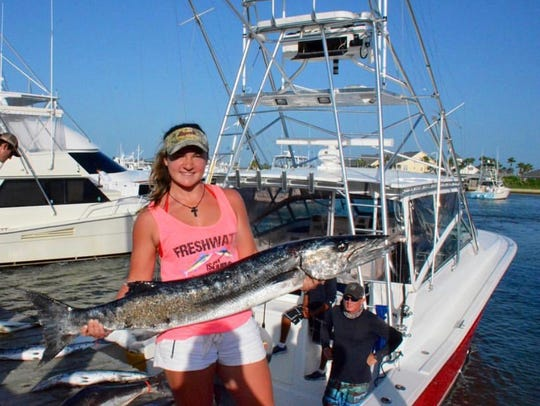 Kendall Owens has competed in the Port Aransas Boatman