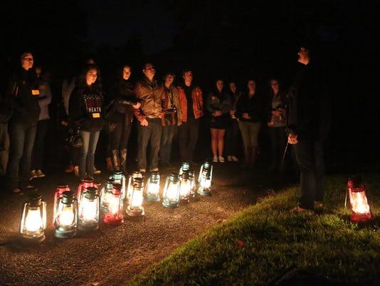 Sleepy Hollow Cemetery lantern tours