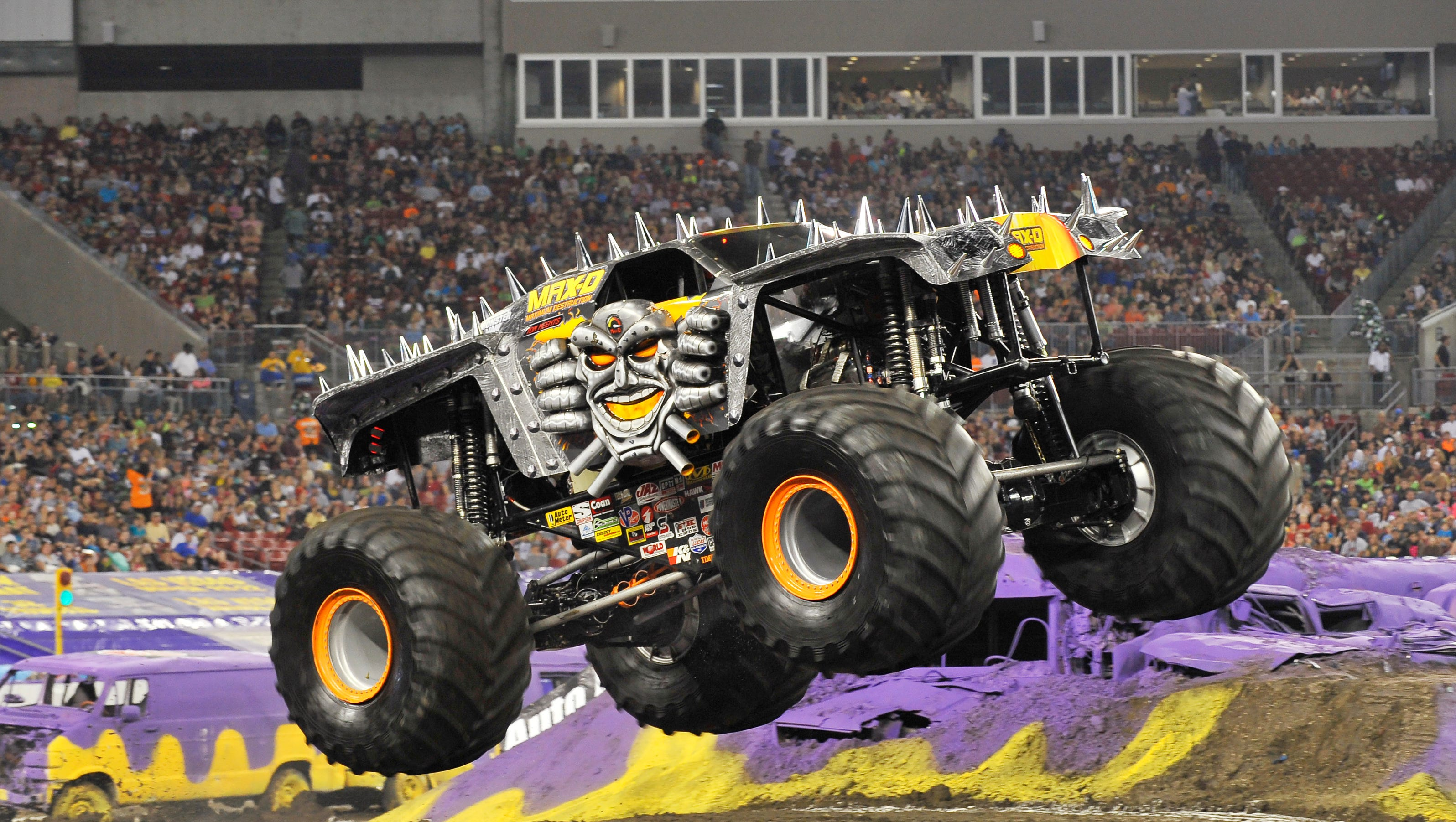 monster jam trucks at ford field saturday going for. Black Bedroom Furniture Sets. Home Design Ideas