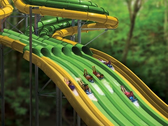 twisty racing water slide coming to dollywood