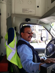 Juan Carlos Melena is among 90 MV Transportation bus drivers contracted to drive for MST.