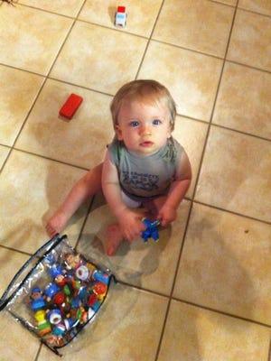 Milton woman Ashley Kent shares a photo of her son, Brodie Kent, who died following a brain bleed in October 2014.