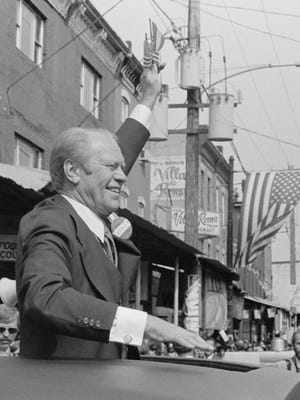 The 38th president of the United States, Gerald R. Ford, restored credibility to the White House after the previous commander-in-chief resigned in disgrace.