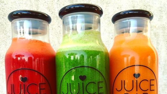 I Love Juice Bar's we got the beet, sweet greens and