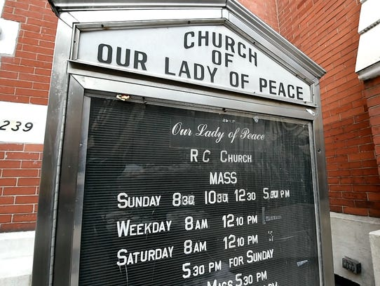 The Our Lady of Peace Church on East 62nd Street in