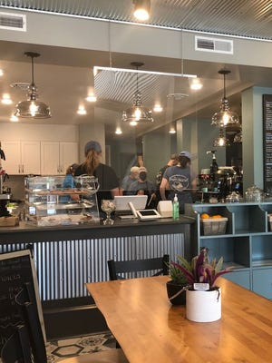 Rod and Kim Eckstine recently opened The Bean and Biscuit Coffeehouse in downtown Greencastle.