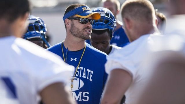 Angelo State head coach Will Wagner returns for his seventh season as the Rams head coach.