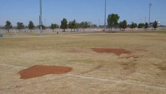El Paso Parks and Recreation Department crews are filling in holes as part of efforts to restore conditions at the Westside Sports Complex.