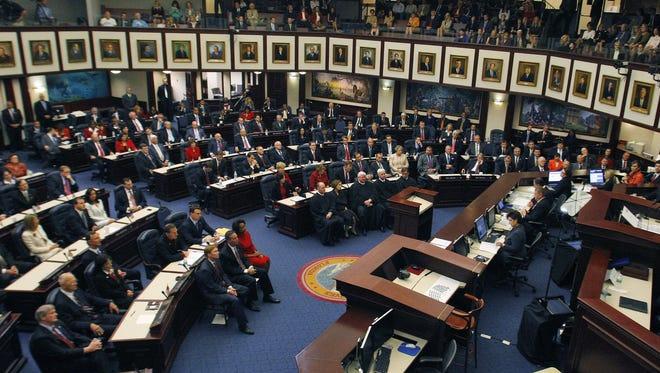 FILE: Florida legislature in Tallahassee, Fla.